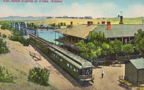How the 'Sunset Route' Railroad Helped Diversify California - Atlas Obscura