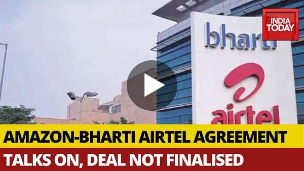 Watch: Amazon in talks to buy $2 billion stake In Bharti Airtel