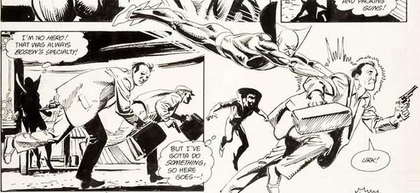 Jose Luis Garcia-Lopez - Deadman Original Comic Art