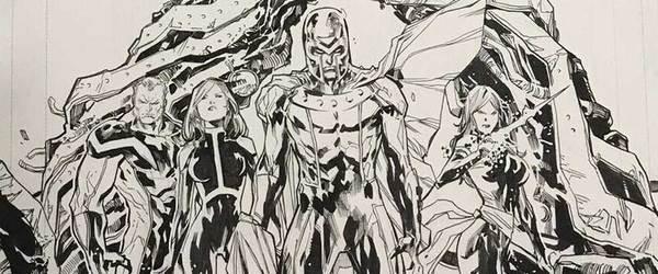 Ken Lashley - X-Men Original Cover Art