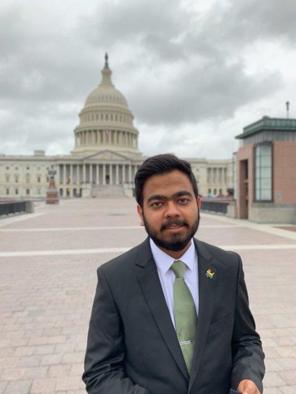 Lobbying in D.C., photo courtesy of Divyansh Kaushik