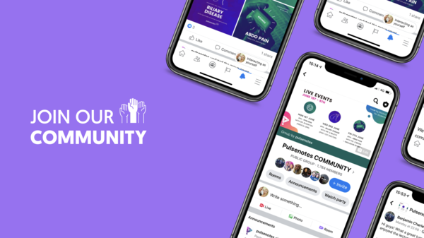 JOIN OUR COMMUNITY for details of all our EVENTS!