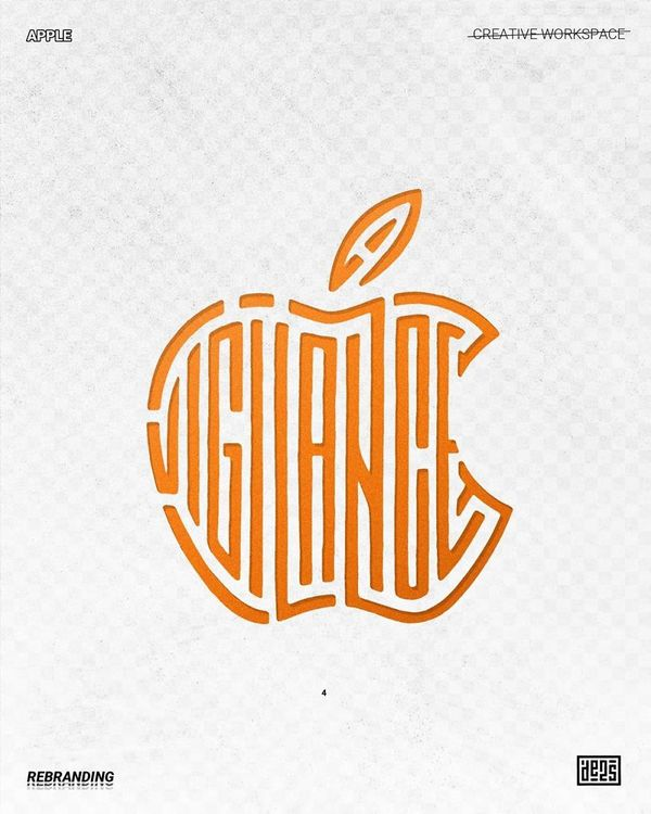 a new spin on famous logos - Credit: de2s [click through, there's a lot more]