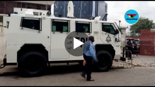 Heavy security presence at EC as IPAC meeting holds