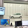 Blick hinter die Kulissen: WAZ testet Windkanal-Effizienz-Zentrum von VW