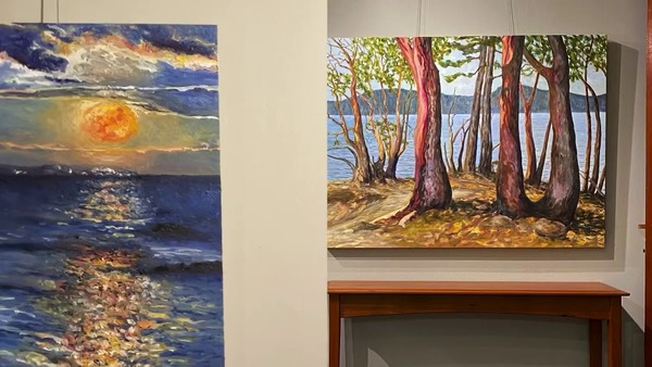 Island Time Summer 2020 Terrill Welch Gallery Mayne Island BC
