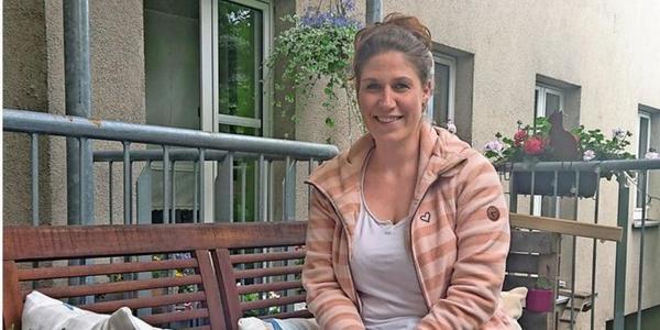 Isabell Härtel ist Krankenschwester an der Oberlinklinik. Quelle: Nadine Fabian