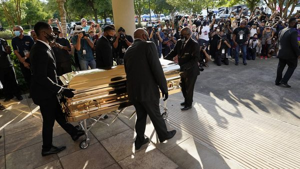 George Floyd: Livestream zur Trauerfeier