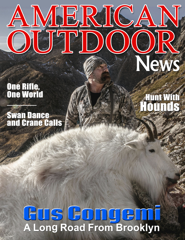 SCI Prostaffer and Spokesman Gus Congemi Makes the Cover of American Outdoor News