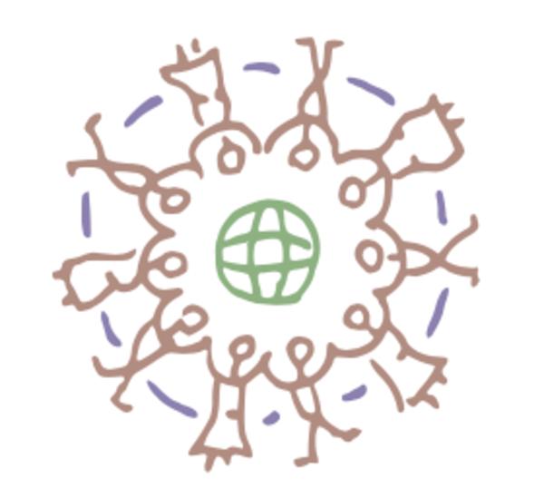 Illustratie Ubuntu - Roel Spooren (afbeelding uit 'Disrupt Jezelf')