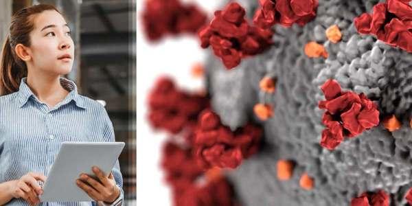 Working under a tech-fueled microscope in the coronavirus era