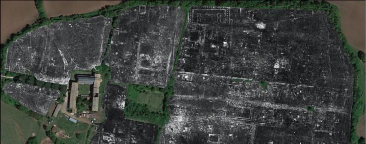 Radar kortlægger romersk by