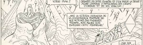 Moebius - The Incal Original Comic Art