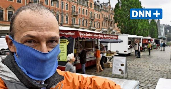 Wie Dresdens Wochenmärkte zur Normalität zurückkehren