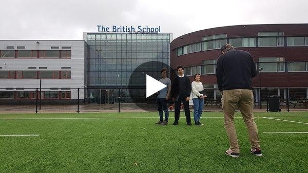 Microsoft referentie video British School in the Netherlands - BureauBranded - 2020