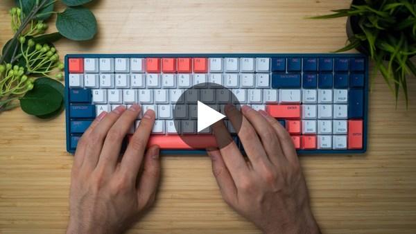 My Favorite Mechanical Keyboard - IQUnix F96 Coral