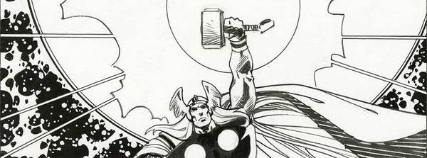 Walt Simonson - Thor Original Comic Art