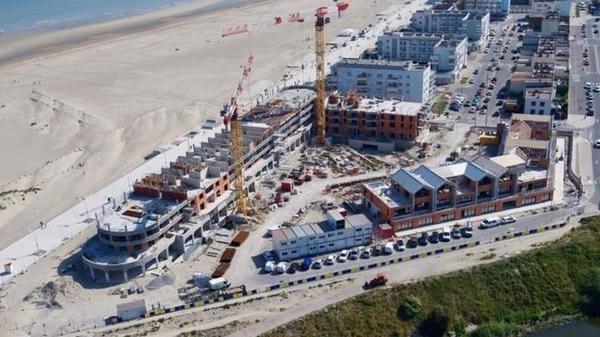 Dunkerque: ce futur hôtel qui rappelle la construction navale des Chantiers de France - Het toekomstige hotel dat doet denken aan de vroegere scheepsbouwwerf