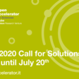 OA2020 - Call for Solutions (application deadline July 20th)