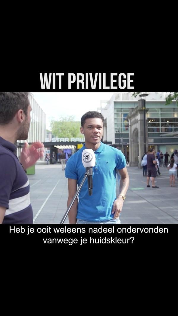 """Vox Pop held Roel Maalderink ging op pad: """"Heb je ooit weleens nadeel ondervonden vanwege je huidskleur?"""""""