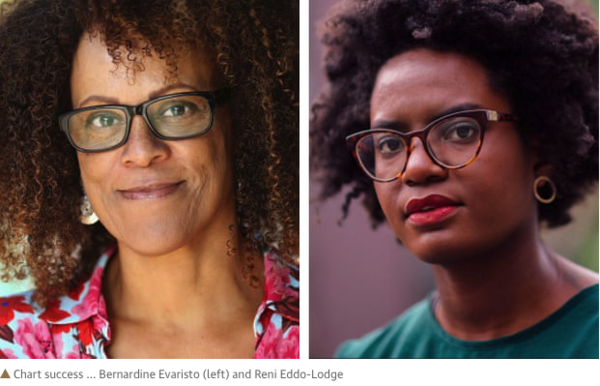 Black British authors top UK book charts in wake of BLM protests