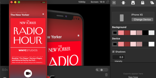 Rotato 100 — Beautiful app presentations