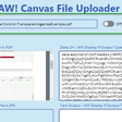 Canvas File Uploader | PCF Gallery