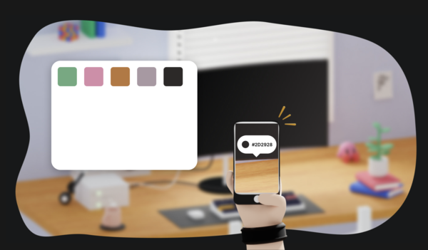 Color Copy Paste — Pick colors from your phone's camera