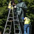 Clash over Columbus boils over after statue in Little Italy joins wave of monuments targeted by protesters
