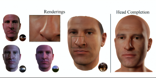 AI model creates 3D avatars from a person's picture