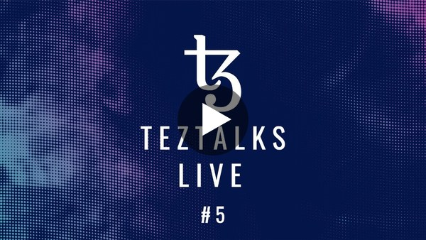 TezTalks Live #5 - Mason Borda