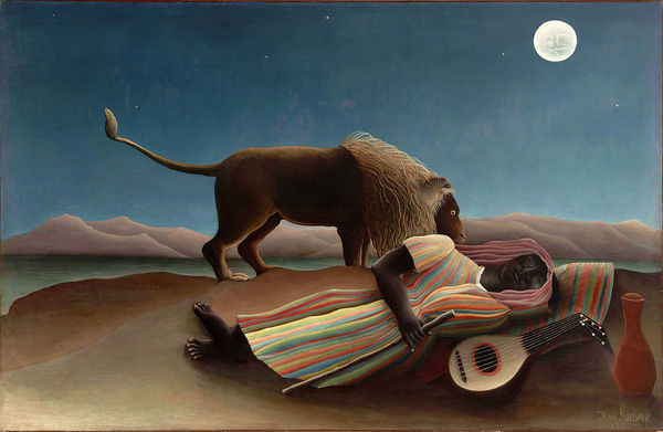 The Sleeping Gypsy — Rousseau