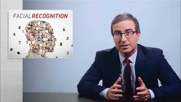 Facial Recognition: Last Week Tonight with John Oliver | HBO