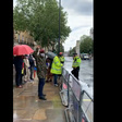 Fin du régime: les combattants 'attaquent' Macron à Londres (non au gré à gré)