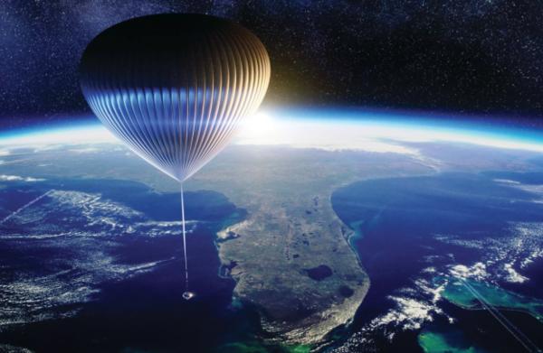 Met een luchtballon naar de ruimte? Binnenkort kan het wellicht!