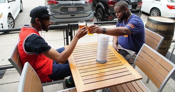 African American entrepreneurs launch a craft beer named for two famous Chicago 'Harolds'