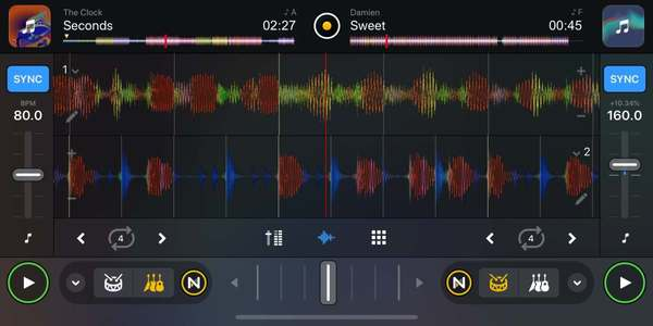 Algoriddim's Djay Pro AI can transfer vocals and rhythms between songs