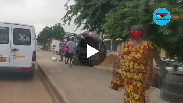 Eyes on Ground: Passengers on Kasoa-Mallam road stranded due to social distancing rule