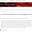 Dahomey and the Slave Trade: Reflections on the Historiography of the Rise of Dahomey | The Journal of African History | Cambridge Core