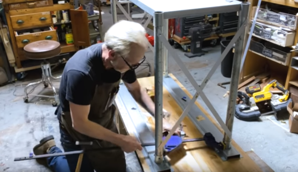 Turning a clamp into a spreader bar.