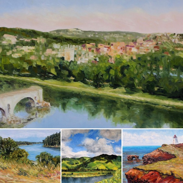 A Different Kind of Summer Online Show of Terrill Welch Paintings