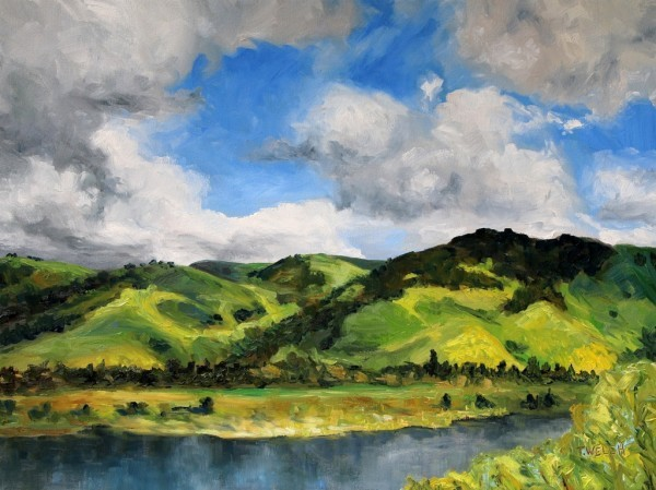 Fremont Hills California Early Spring by Terrill | Artwork Archive