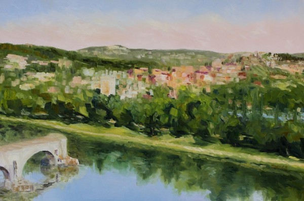 Villeneuve lez Avignon France by Terrill Welch   Artwork Archive