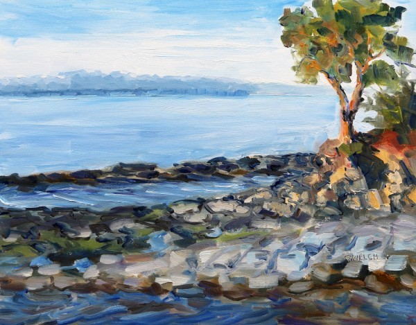 Evening beside the Sea by Terrill Welch | Artwork Archive