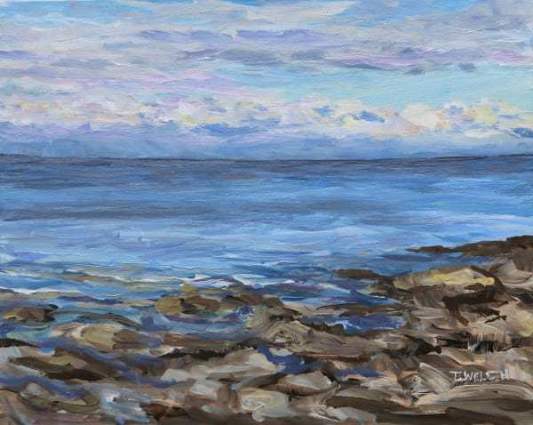 Early Evening Active Pass by Terrill Welch | Artwork Archive