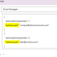 Send Email to Unresolved Recipients in Dynamics 365 using Power Automate