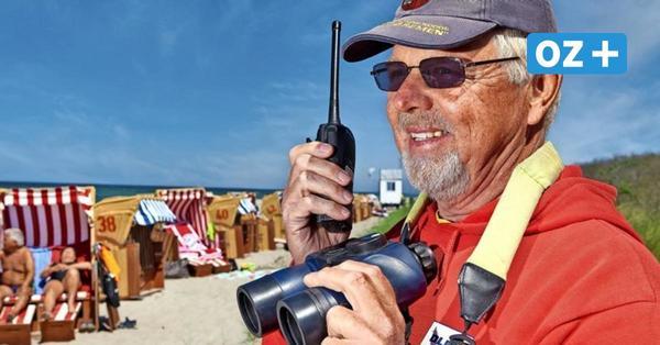 Badesaison trotz Corona: So läuft die Arbeit der Rettungsschwimmer in MV