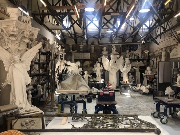 Das Atelier von Andreas Hoferick. Foto: Peter Degener