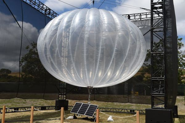 Alphabet Subsidiary's Wi-Fi Balloon Spotted Flying Off The Shore Of Los Angeles