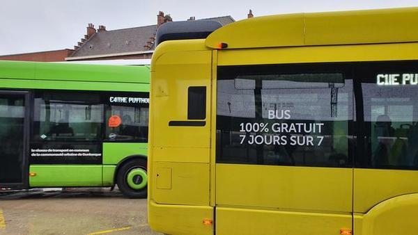 Comment Dunkerque a mis en place son service de bus gratuits - Hoe Dunkerque haar gratis openbaar vervoer heeft opgezet